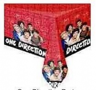 One direction party tablecover (Code 1429)